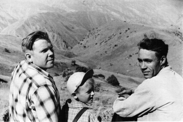 Взрослые не боялись брать меня с собой в горы в многодневные походы (Центральный Тянь-Шань)