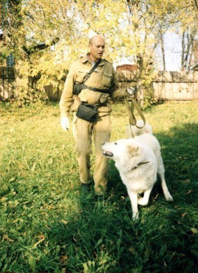 Кавказская овчарка Берг (агрессия к людям, подготовка к охране частной собственности)