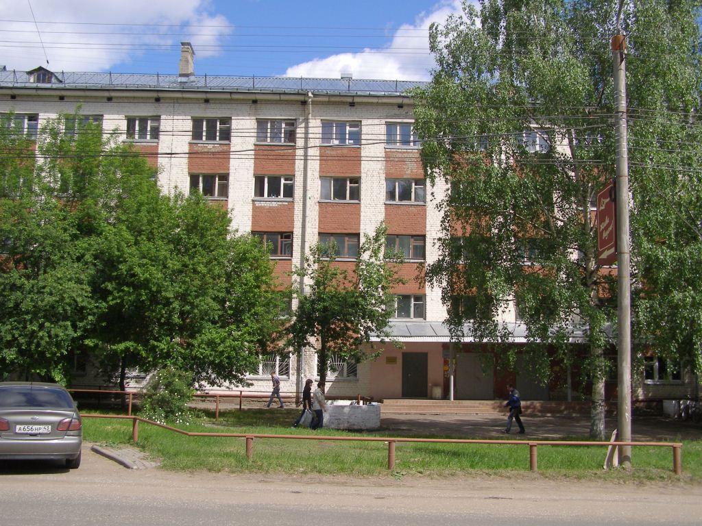 Студенческое общежитие №2 (мехфака), где мы поселились