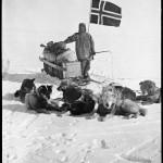 На Южном полюсе, норвежская экспедиция Р.  Амундсена