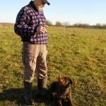Установлен зрительный контакт с собакой