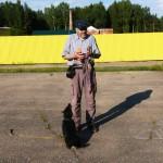 Шварц перед демонстрацией своих навыков
