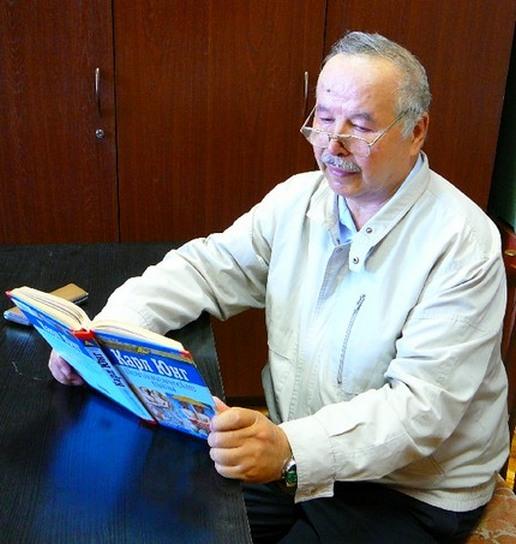 Психолог, зоопсихолог Душабаев З. Р. за кафедрой