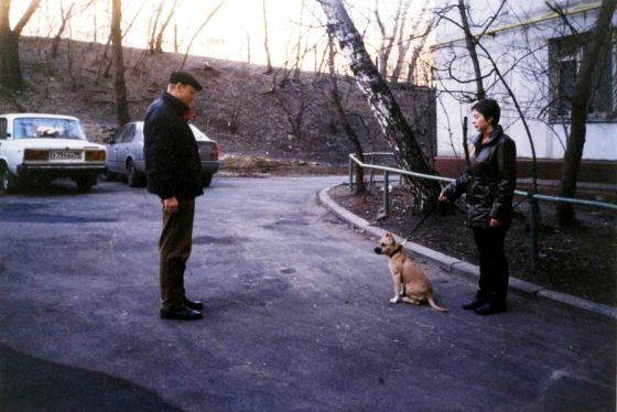 Моя первая встреча с амстаффом Мэги и его хозяйкой